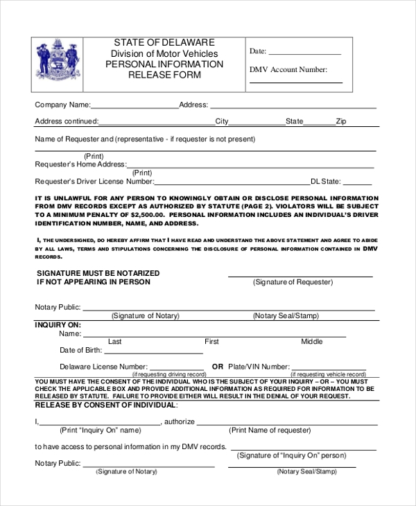 Hippa Release Forms. Sample Medical Information Release U2026