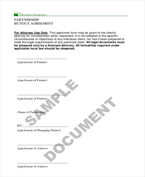 Llc Buyout Agreement Template