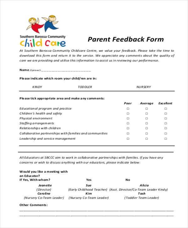 Beautiful Daycare Form Illustration - Resume Ideas - bayaar.info