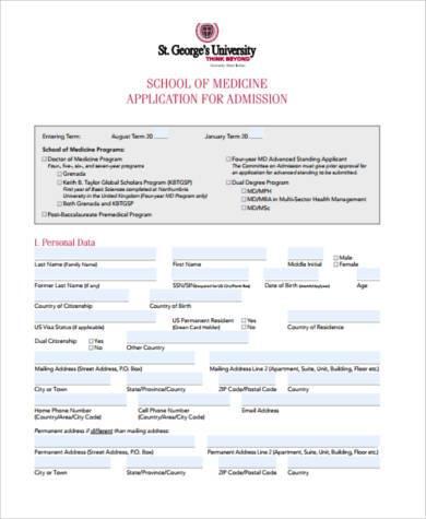 Sample med school essays