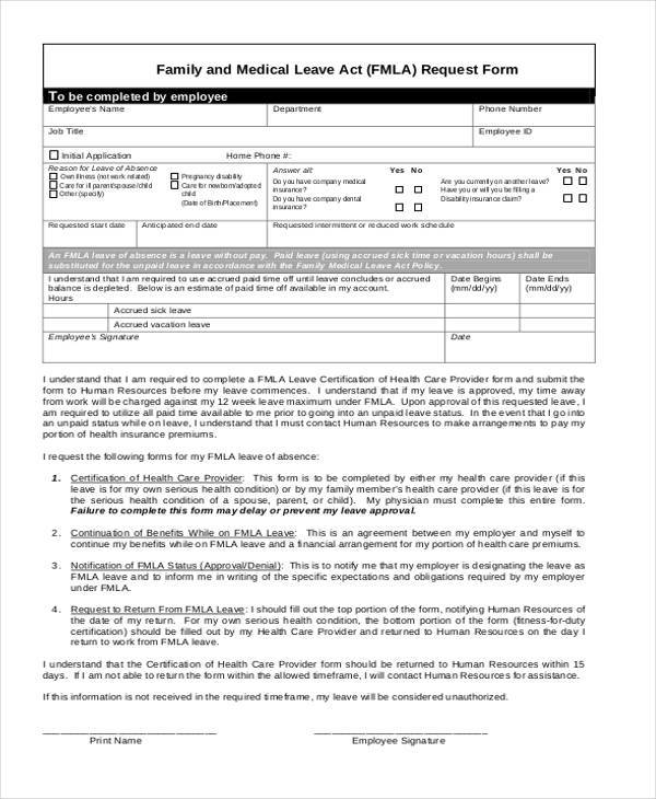 Medical Leave Form Solarfm