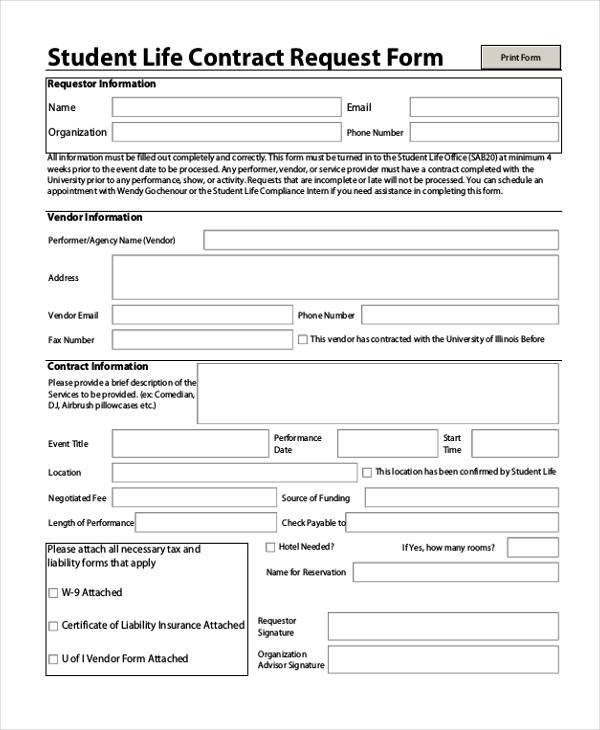 Bid Request Form Template Trattorialeondoro