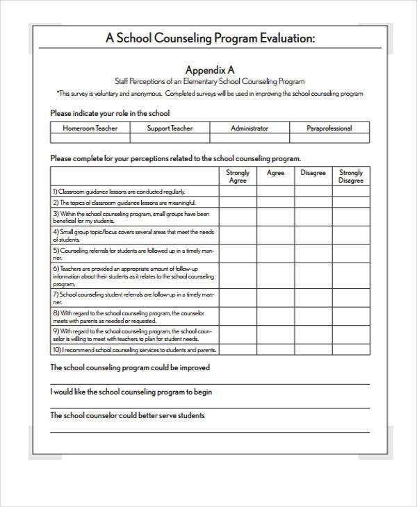 sample program evaluation template | trattorialeondoro
