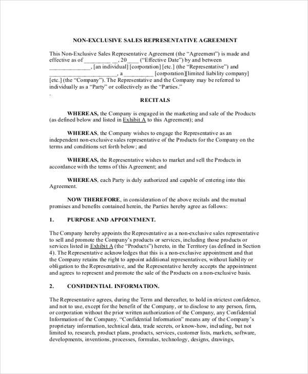 Non Exclusive License Agreement Template