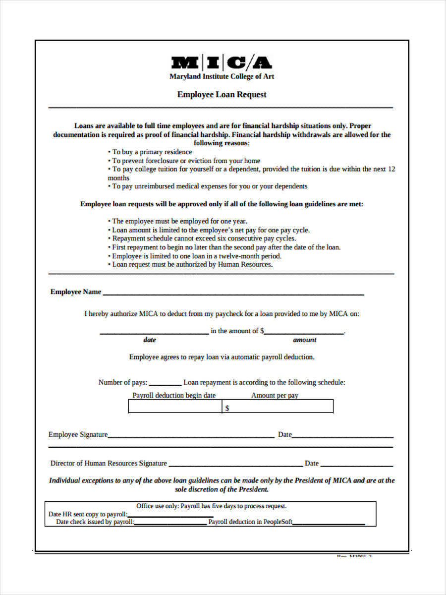 Directors Loan Agreement Free Template