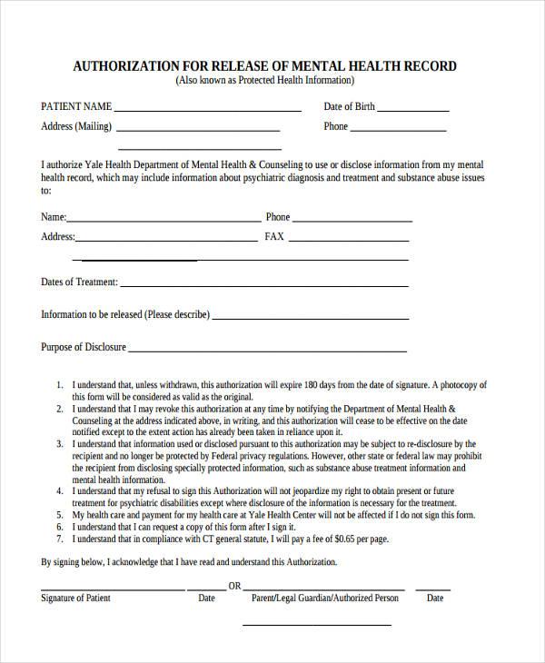 general release form template | datariouruguay