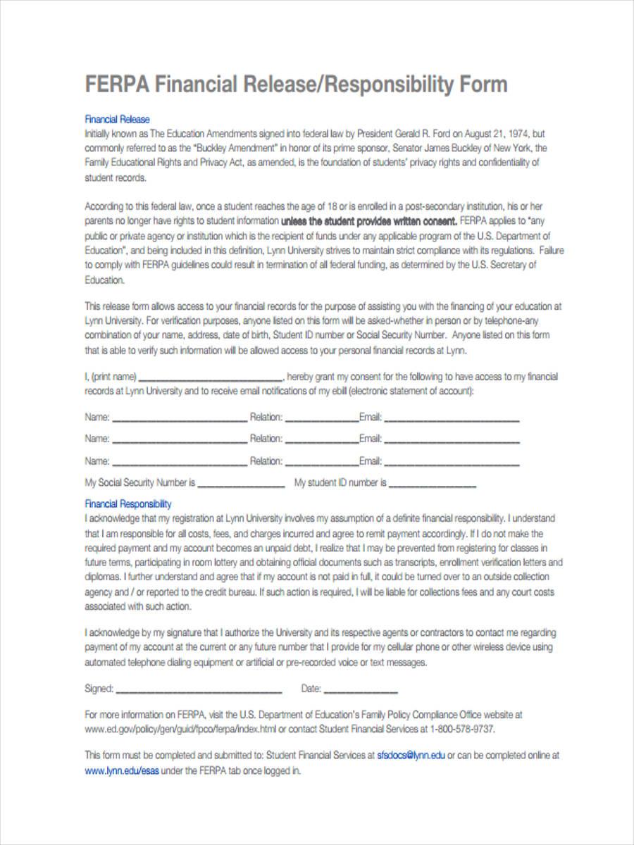 financial release form - solarfm.tk