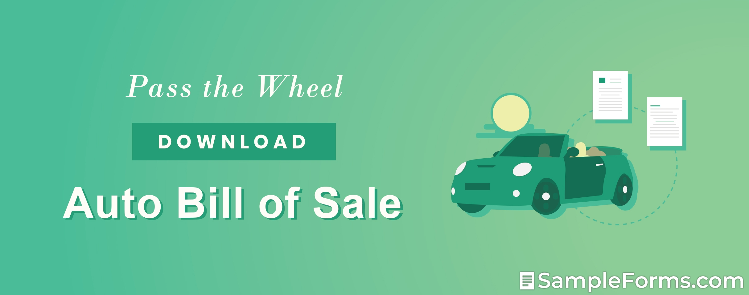 Auto Bill of Sale Form1