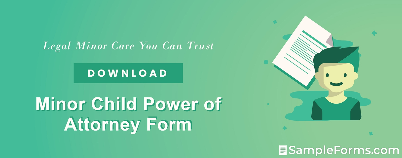 Minor Child Power of Attorney Form