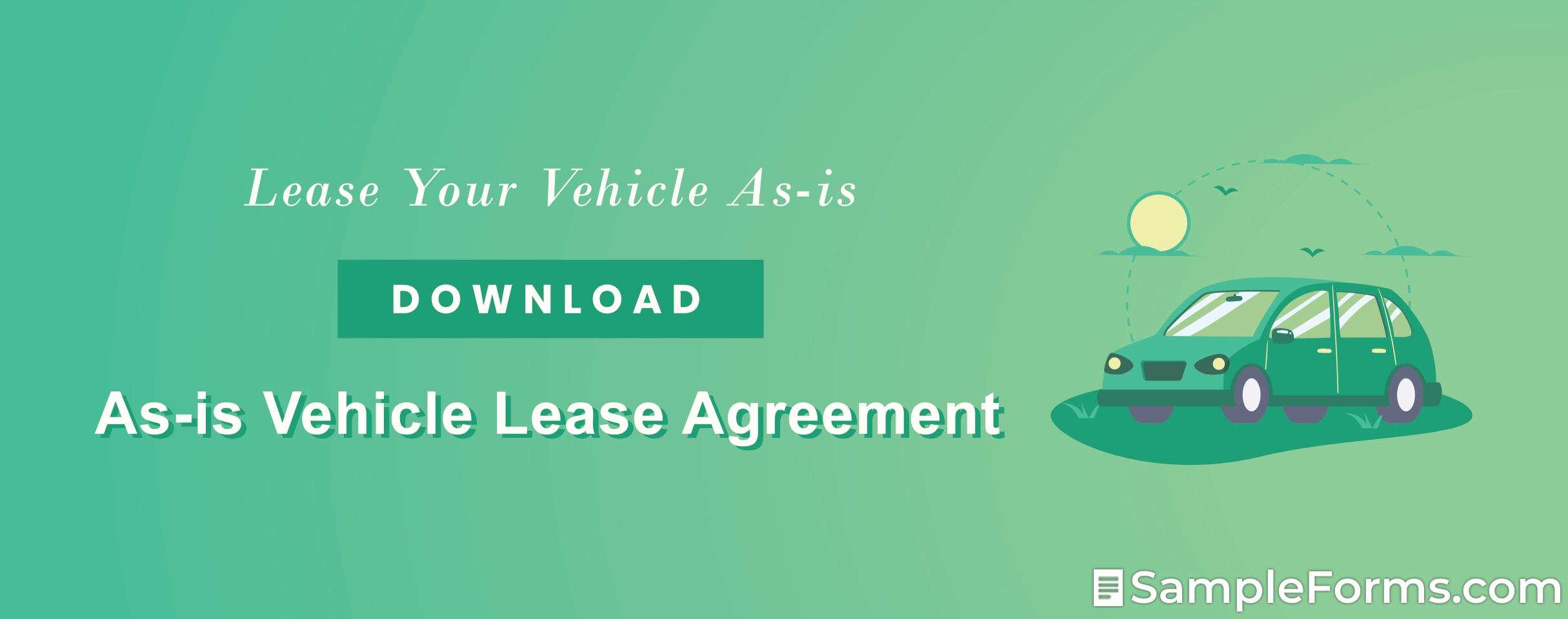 As is Vehicle Lease