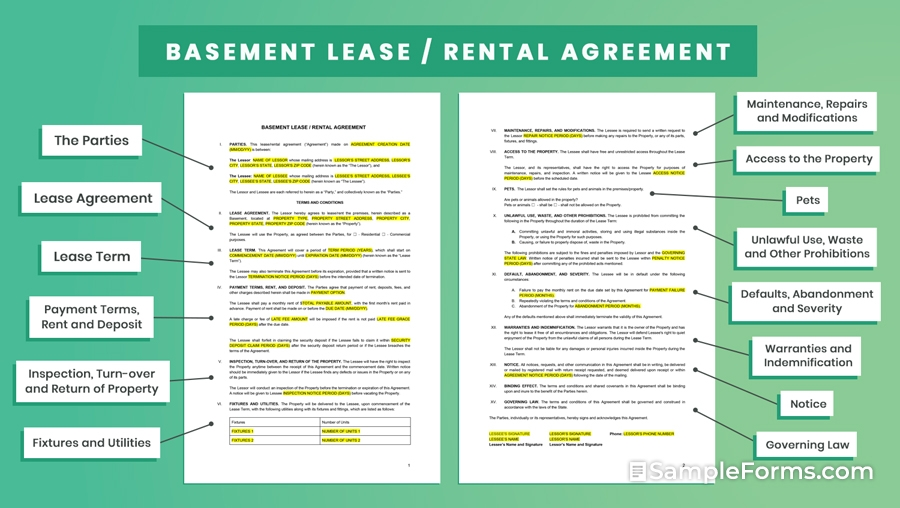 BASEMENT-LEASE-RENTAL-AGREEMENT