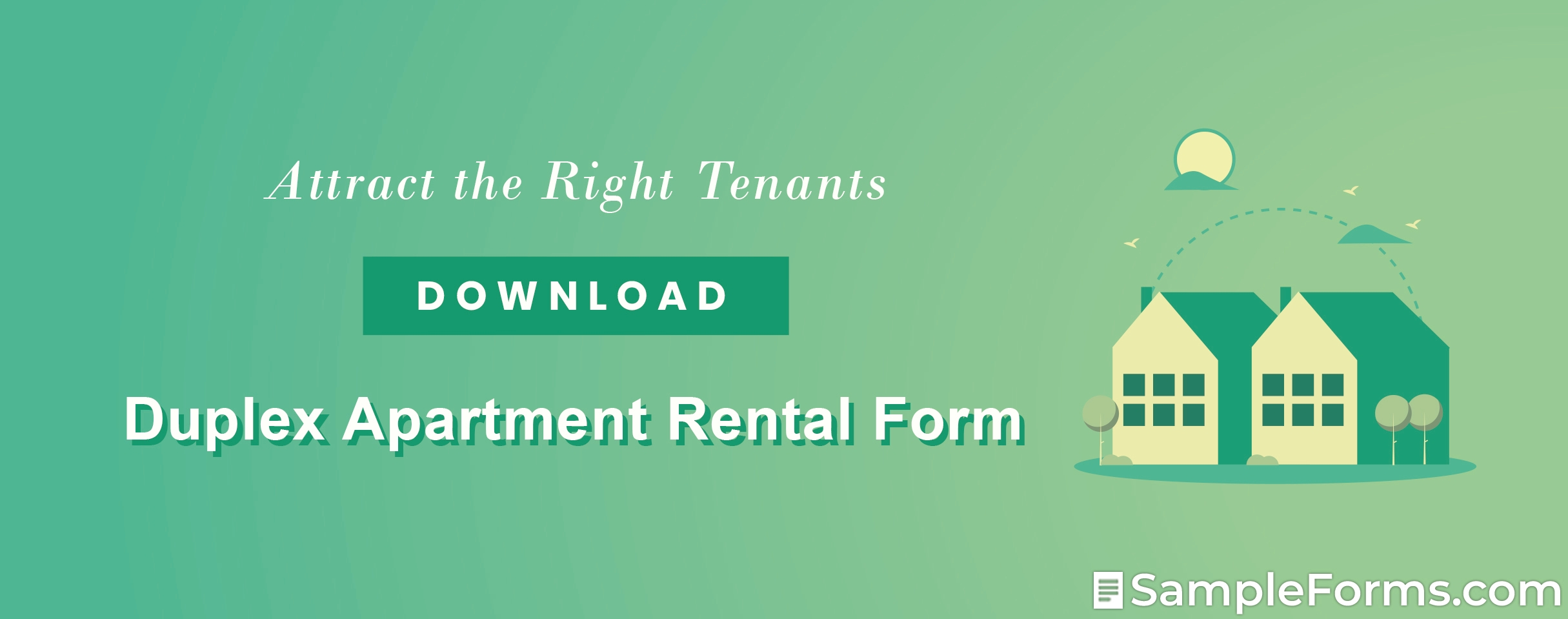 Duplex Apartment Rental Form