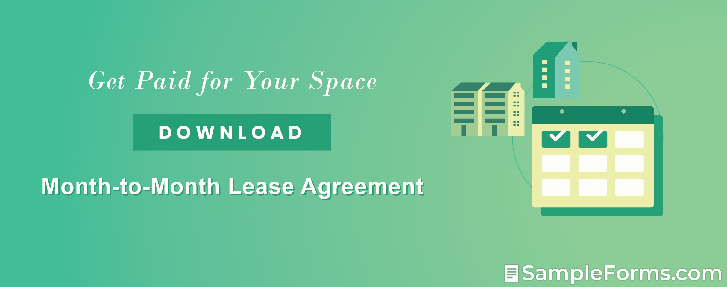 Month to Month Lease Agreement1
