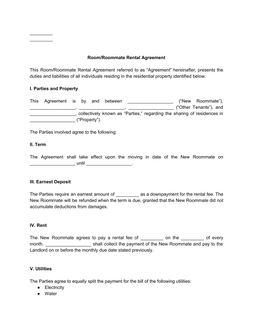 roomroommaterentalagreementform