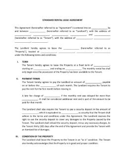 pdfstandardrentalleaseagreementpage001