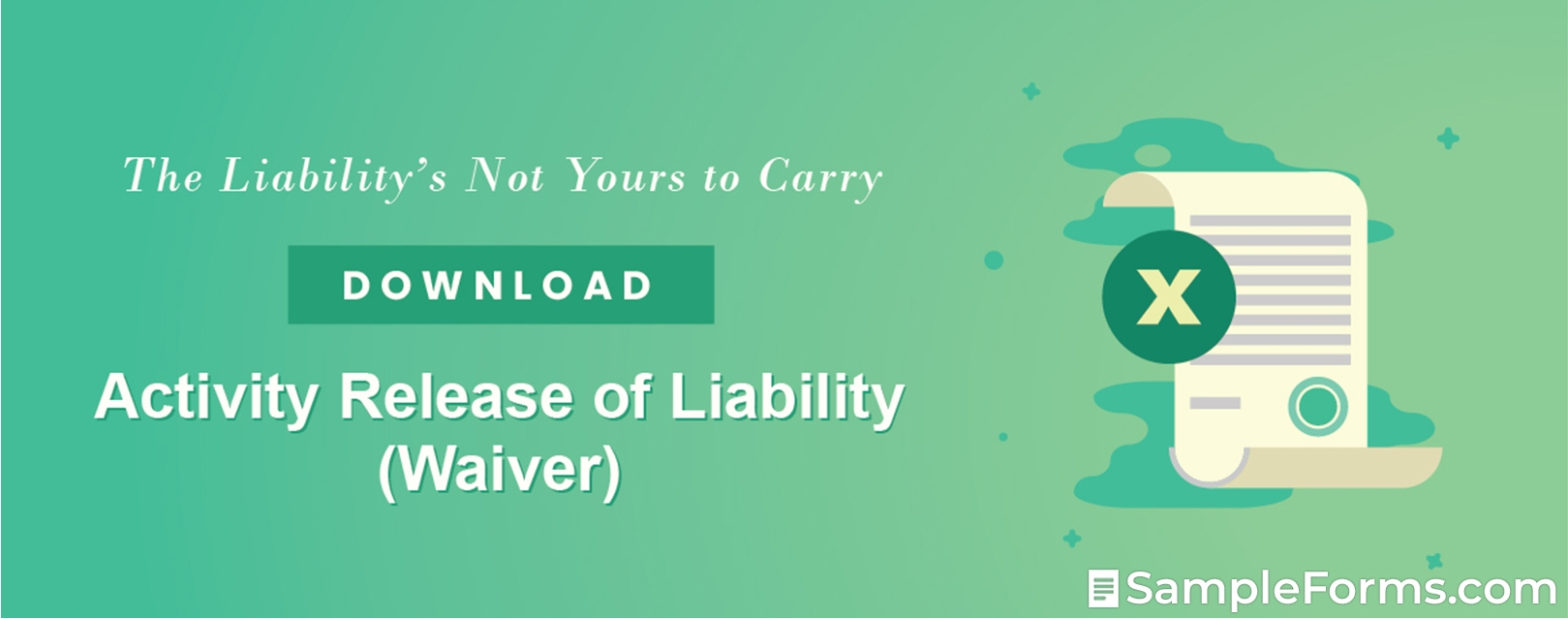 Activity Release of Liability Waiver