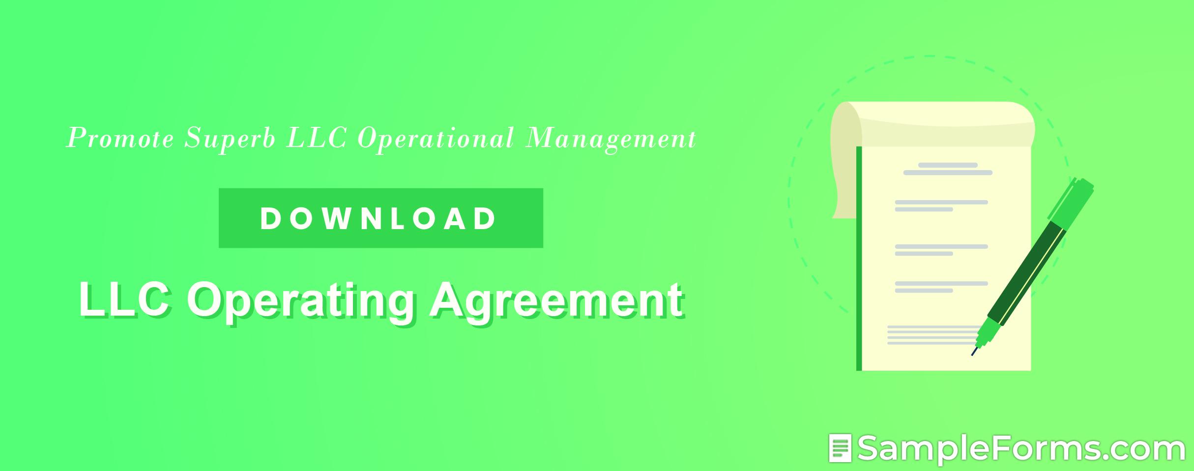 LLC Operating Agreement1