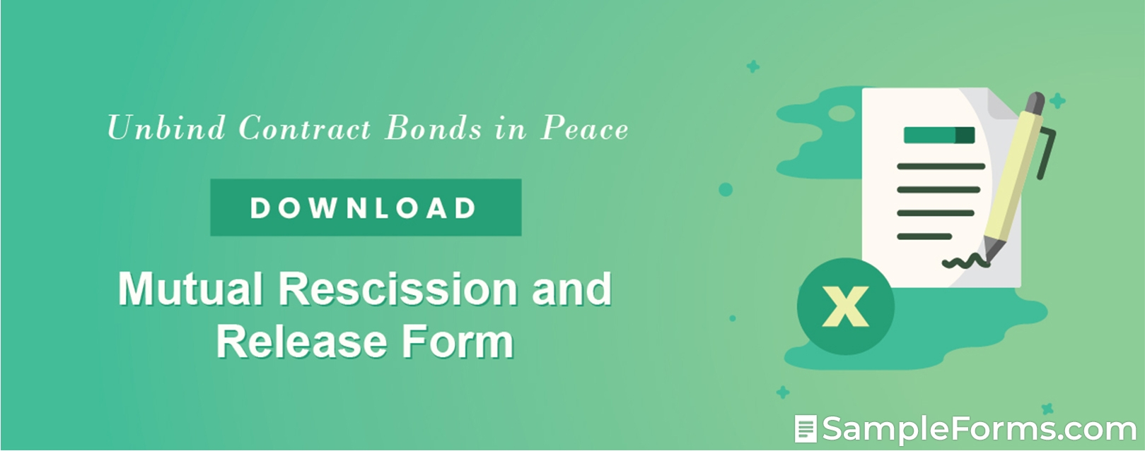 Mutual Rescission and Release Form