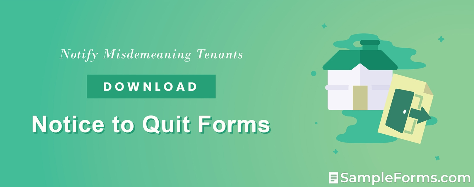 Notice to Quit Forms