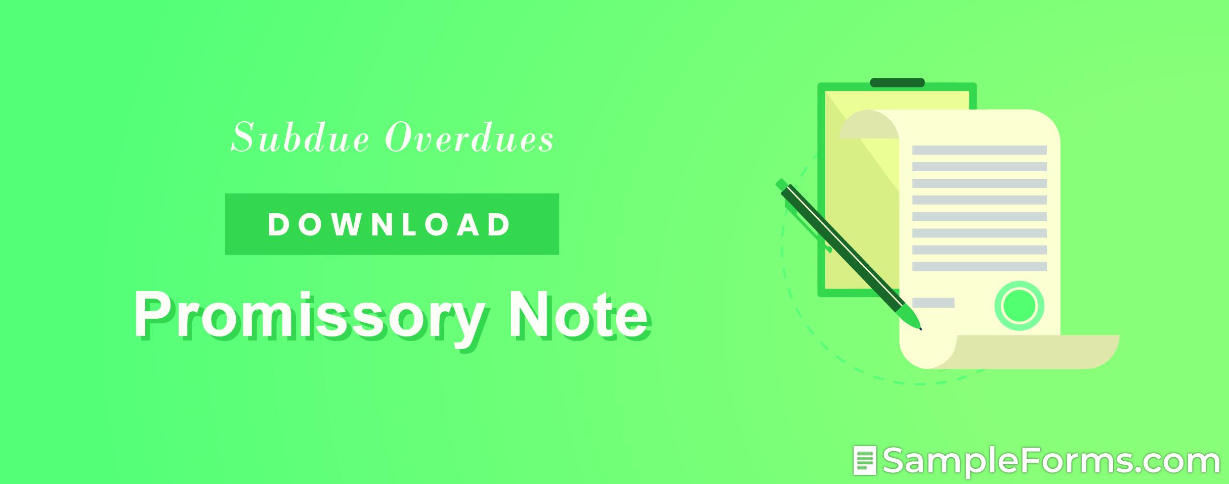 Promissory Note1