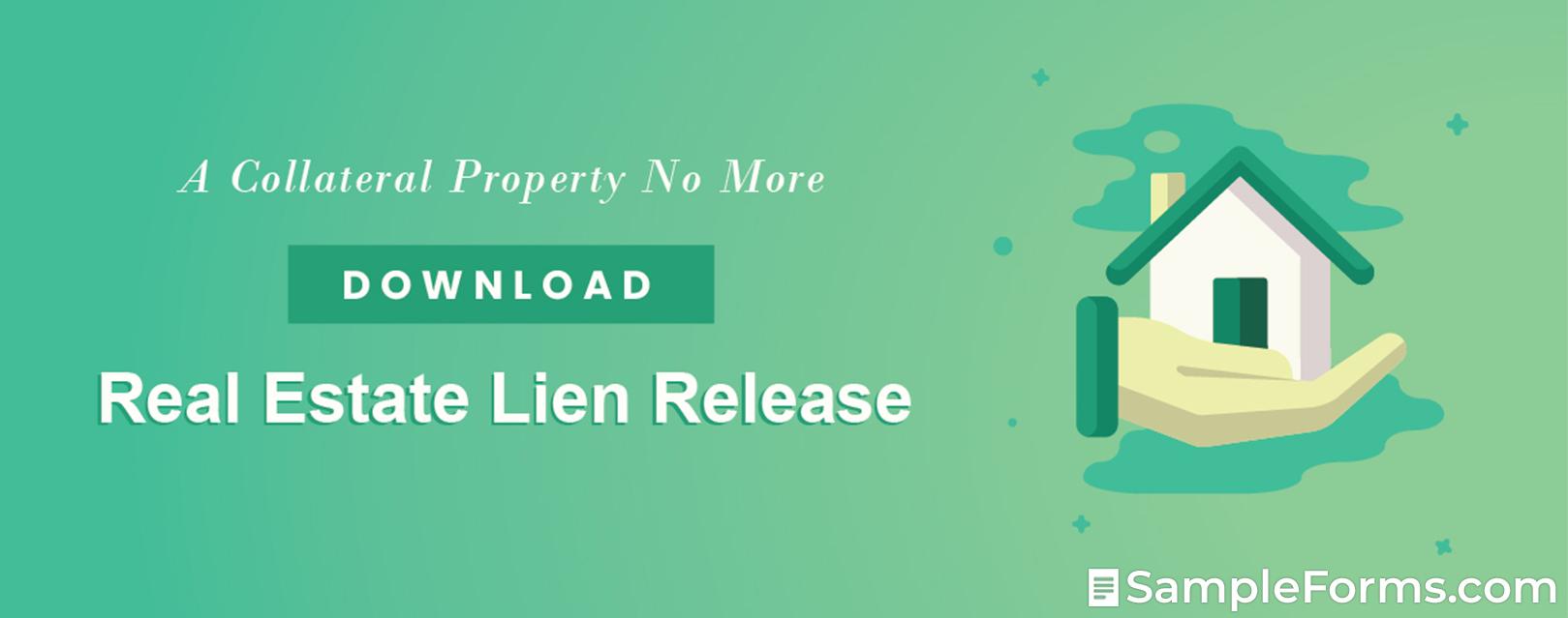 Real Estate Lien Release