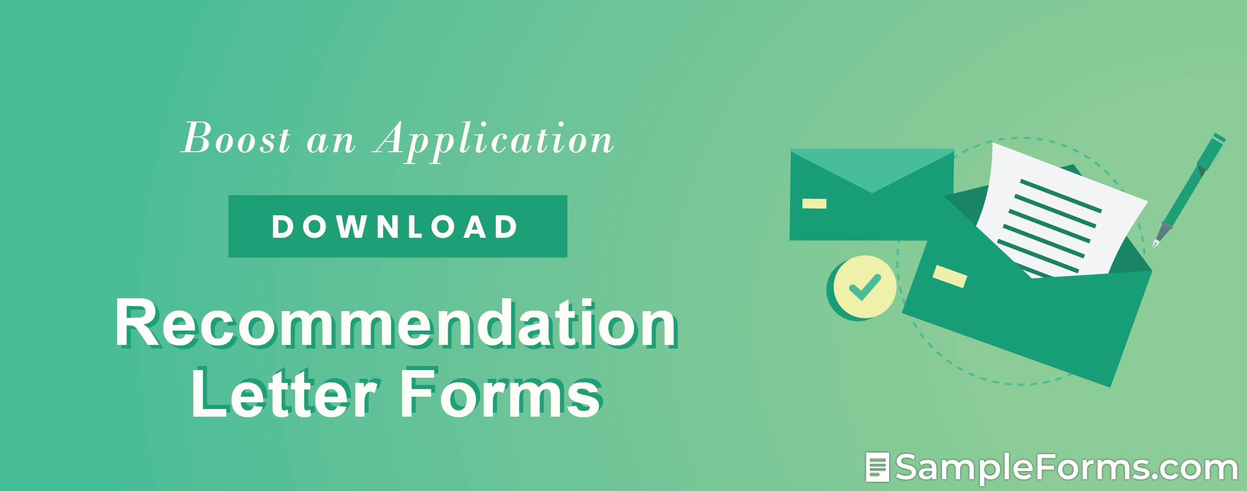 Recommendation Letter Forms