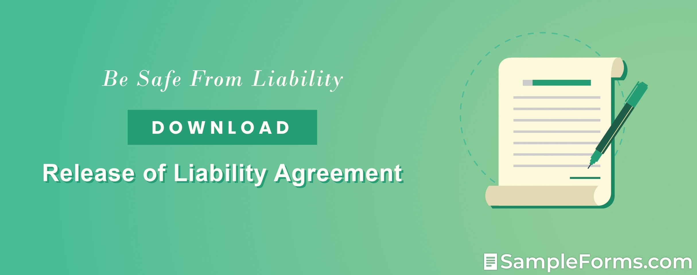 Release of Liability Agreement