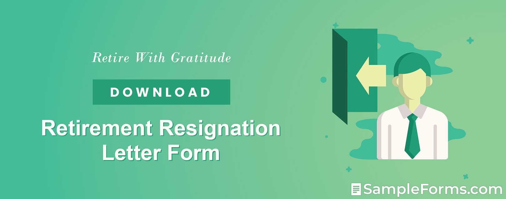Retirement Resignation Letter Form1