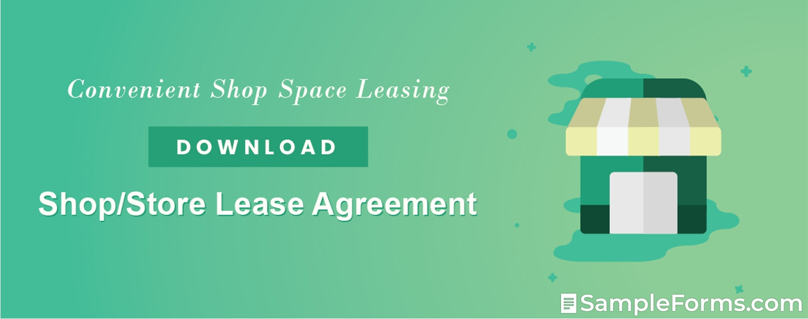ShopStore Lease Agreement