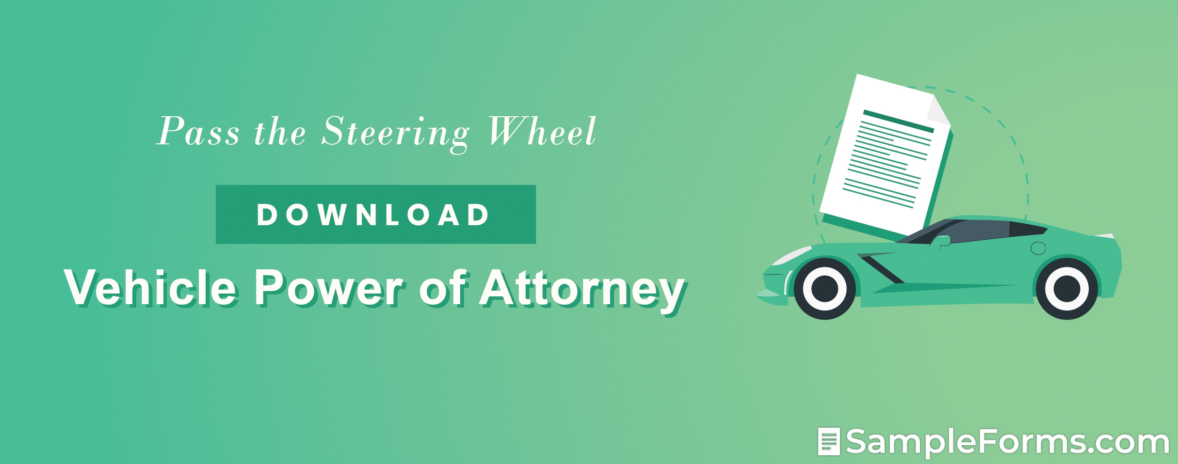 Vehicle Power of Attorney