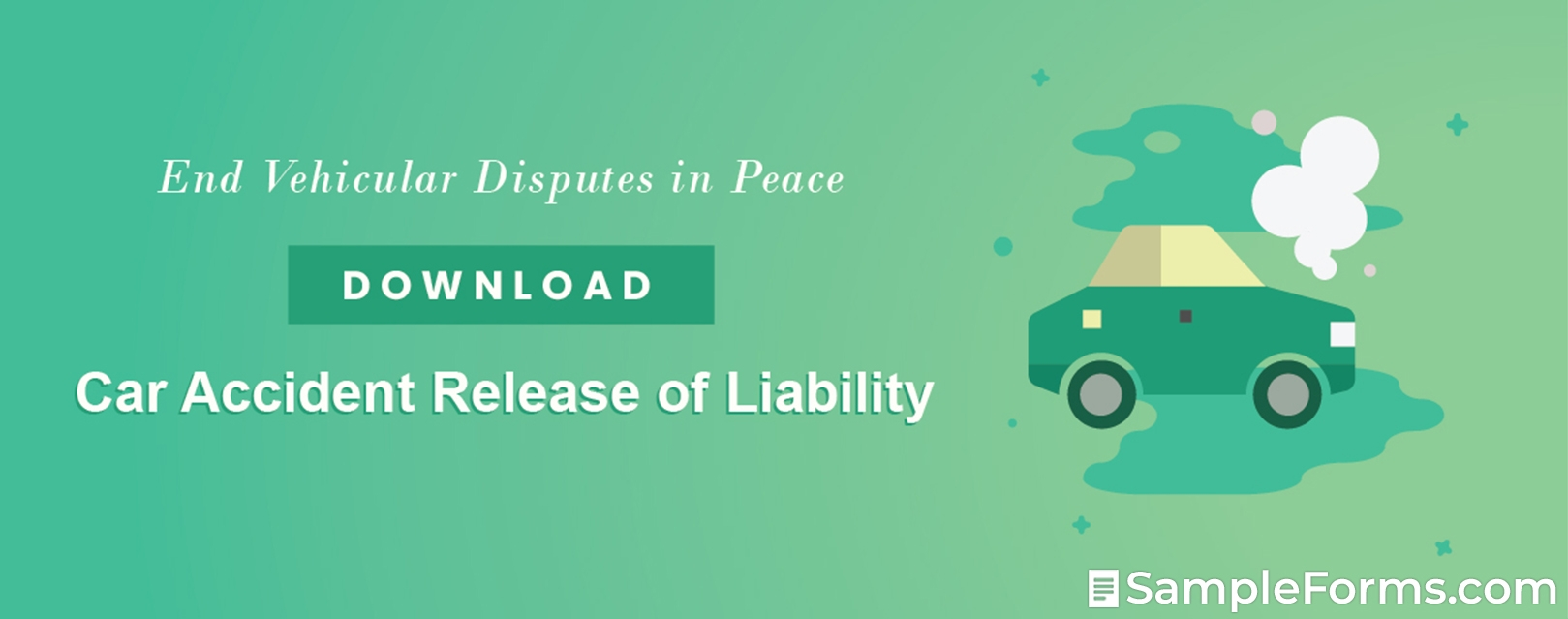 Car Accident Release of Liability