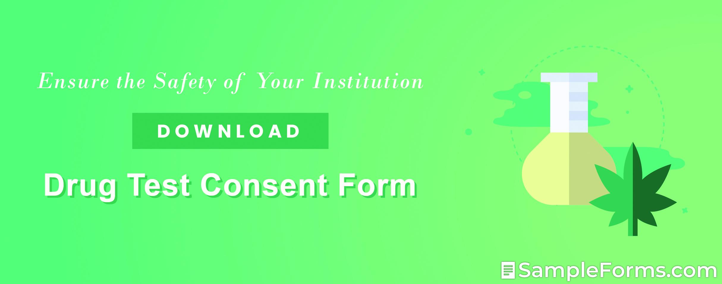 Drug Test Consent Form1