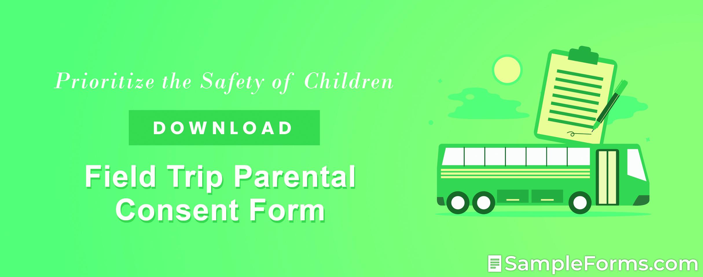 Field Trip Parental Consent Form1
