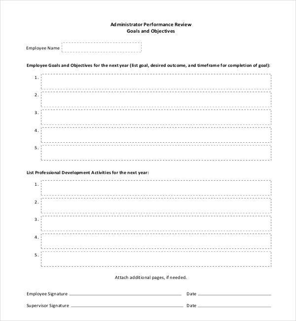 10 sample employee appraisal forms free sample example format. Black Bedroom Furniture Sets. Home Design Ideas