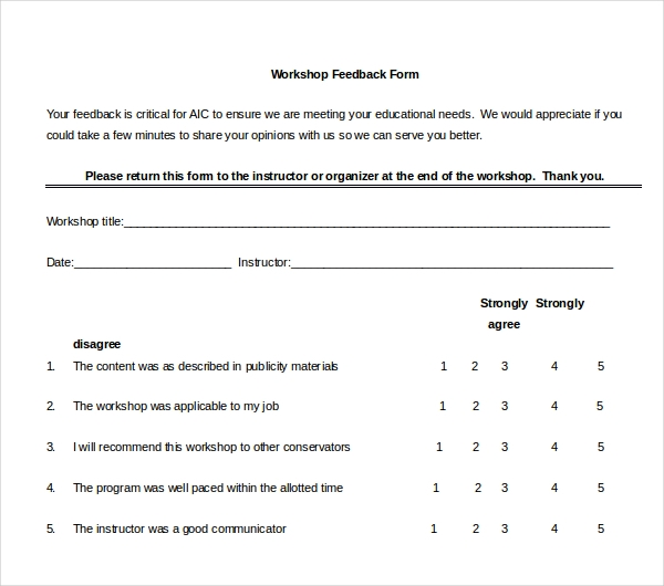 Feedback Forms  PetitComingoutpolyCo