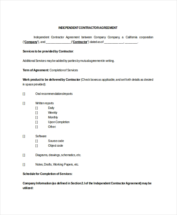 Sample Contract Assignment Forms  Sample Forms