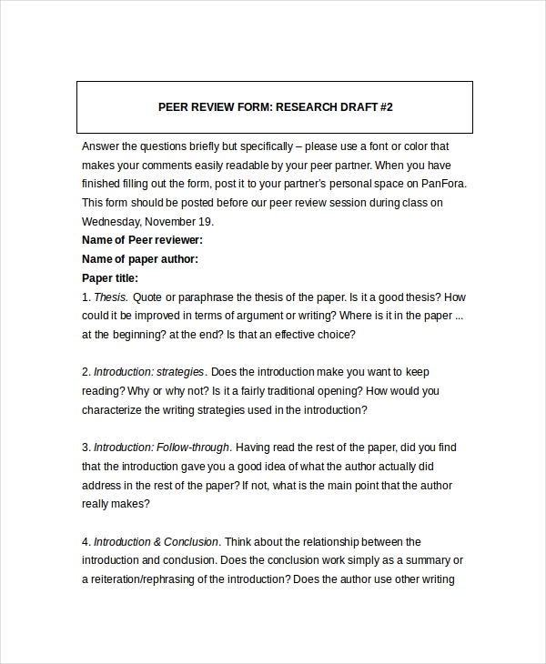 peer review research paper example Download and read peer review research paper example peer review research paper example many people are trying to be smarter every day how's about you.