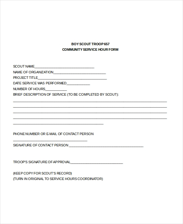 Sample service forms administrative services agreement template 8 sample service hours forms sample forms pronofoot35fo Choice Image