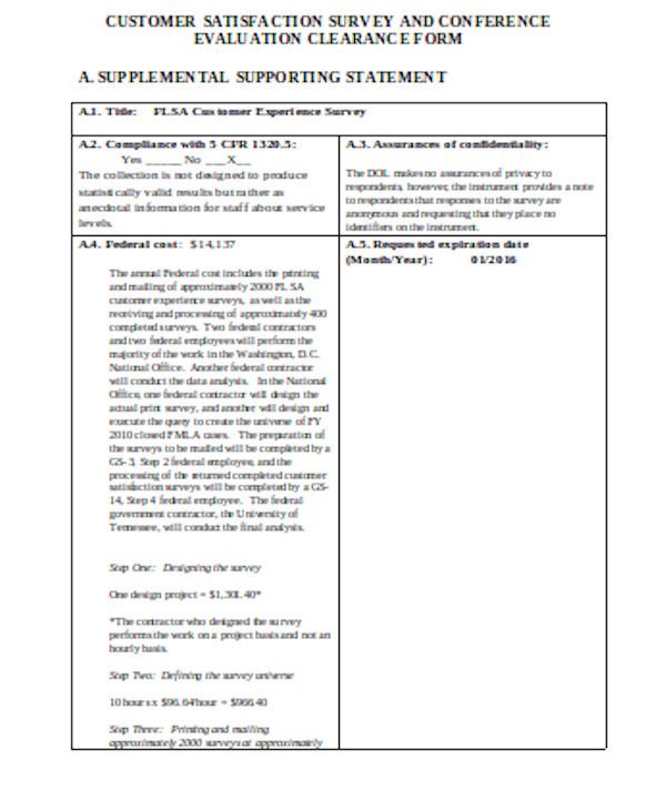 printable customer satisfaction form
