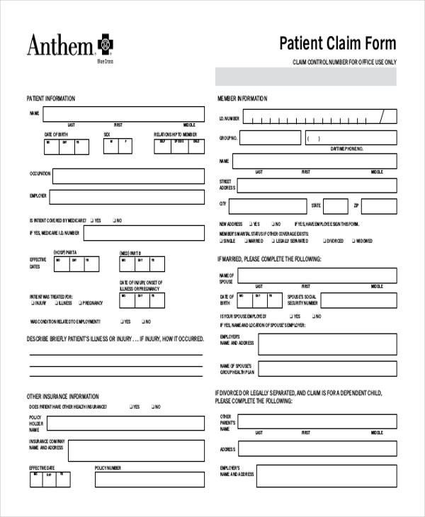 Sample Medicare Reimbursement Form - 6+ Free Documents In Pdf