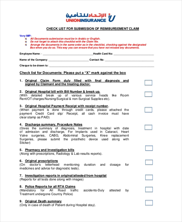union insurance nextcare claim form