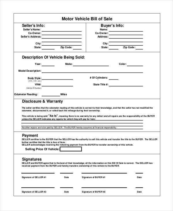 Sample Sales Receipt Form 9 Free Documents in PDF – Sales Receipt