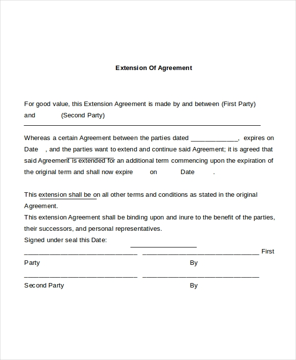 Standard Employment Agreement Department Of Labor And Employment