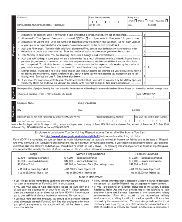 state payroll tax form