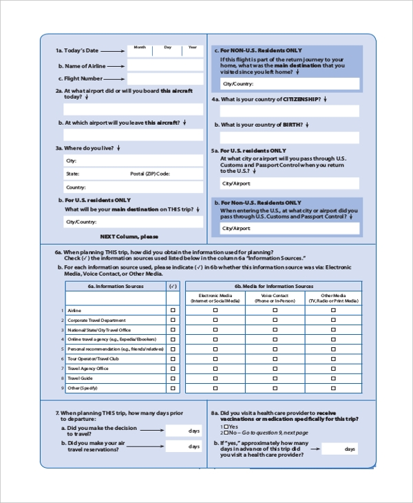Travel Survey Template. Client Satisfaction Survey Sample Pdf 8+