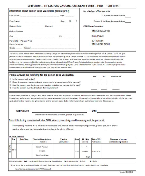 basic consent form