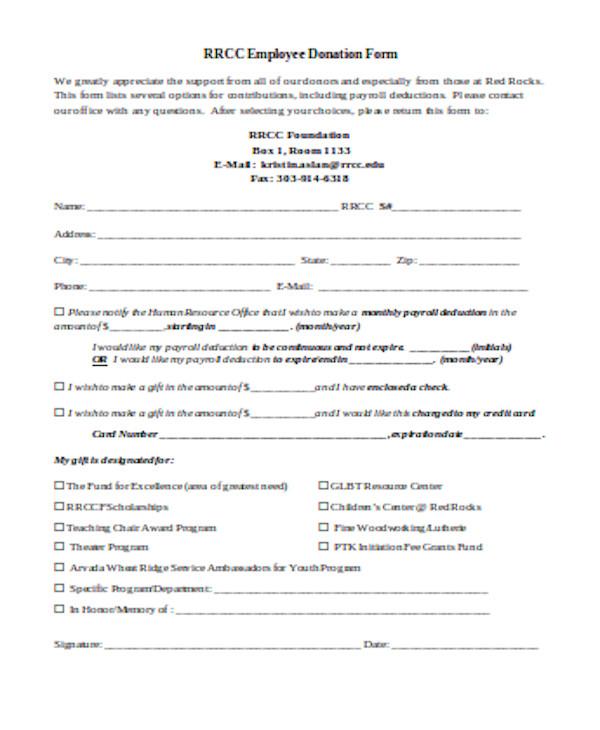 basic employee payroll form