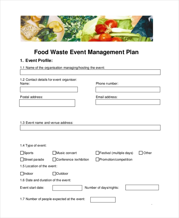 Pretty waste management plans template images gallery for Waste management strategy template
