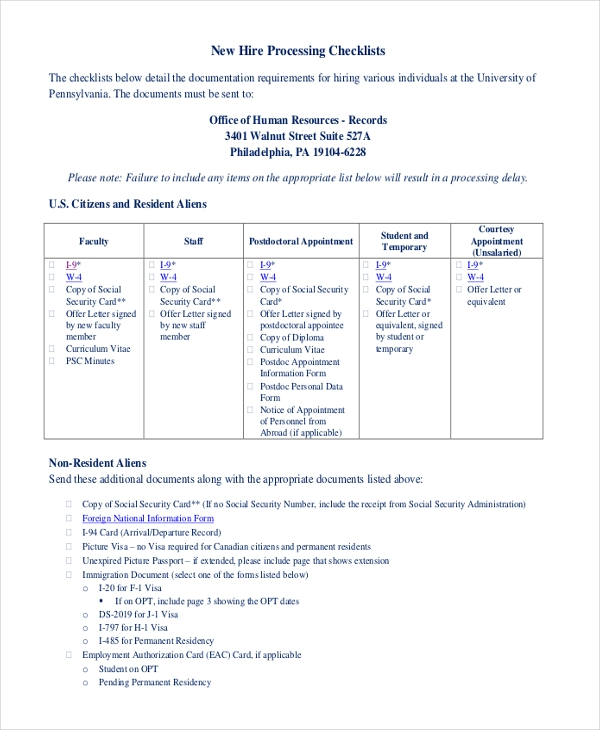 Sample HR Form - 16+ Free Documents in PDF, Word