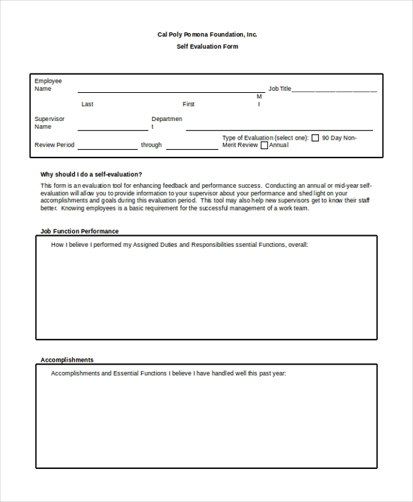 retail sales employee evaluation form